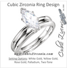 Cubic Zirconia Engagement Ring- The Cortney
