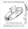 Cubic Zirconia Engagement Ring- The Elmindreda