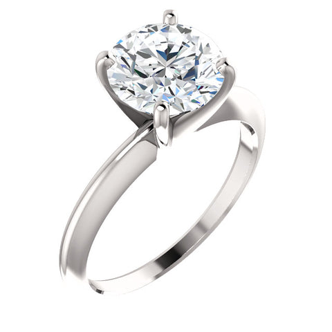 Cubic Zirconia Engagement Ring- The Andee