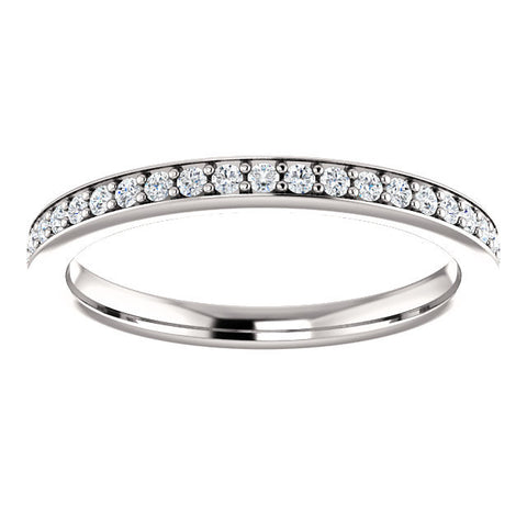 Cubic Zirconia Anniversary Ring Band, Style 122-876 (Tess Matching Band)