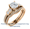 Cubic Zirconia Engagement Ring- The Eneroya (Customizable Enhanced 5-stone Cushion Cut Design with Thin Pavé Band)