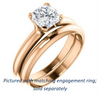 Cubic Zirconia Engagement Ring- The Kathleen (Customizable Cushion Cut Solitaire)