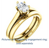 Cubic Zirconia Engagement Ring- The Tonja (Customizable Oval Cut Semi-Solitaire with Dual Three-sided Pavé Band)