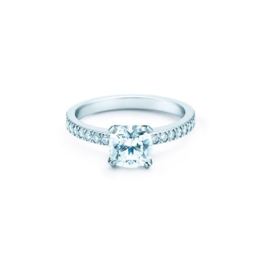6ac4059a9c9b5 Cubic Zirconia Engagement Ring- The Tien (2 CT Cushion Cut)