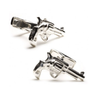 Men's Cufflinks- Sterling Silver Revolvers