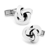 Men's Cufflinks- Sterling Silver Knots