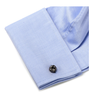 Men's Cufflinks- Gunmetal Plated Knots