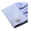 Men's Cufflinks- Sterling Silver Superman (Officially Licensed DC Comics)
