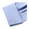 Men's Cufflinks- Sterling Silver Hashtags