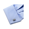 Men's Cufflinks- Sterling Silver Bulls