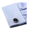 Men's Cufflinks- Stainless Steel Functional Watch