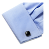 Men's Cufflinks- Onyx Cushion Shapes