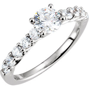 Cubic Zirconia Engagement Ring- The Christina Marie