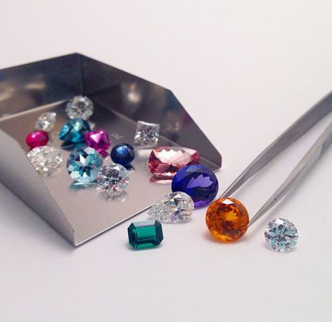 Loose Colored Cubic Zirconia & Birthstone Simulants Sample Pack