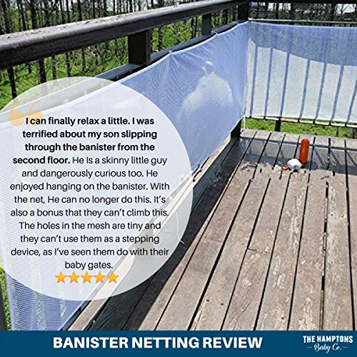 balcony railing guard Stair Railing Amp Banister Guard Netting 10Ft L X 25Ft H Guard Rail Indoor Amp Outdoor Balcony Amp Stairway Deck Railing Safety Net Banister