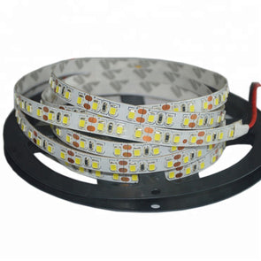 High CRI > 90 DC 12V SMD5050 Ultra Bright Single Color Double Row Flexible LED Strip Lights 120 LEDs Per Meter 2000lm Per Meter 5M(16.4ft) by iCreating 2020 New Design
