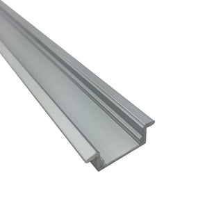 iCreating Super Slim 16.9*9mm Flush Mount LED Aluminium Channel, Compatible with PCB Width within 12mm
