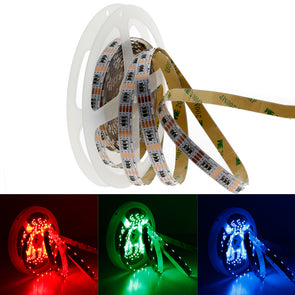 DC 12V 16.4FT 5M SMD335 Side View Flexible LED Strip Lights 60 LEDs Per Meter by iCreating 2020 New Design