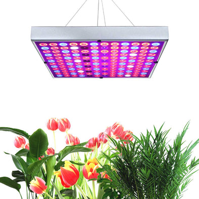 Grow Lights for Indoor Plants Full Spectrum Panel Plant Light with IR  UV LEDs