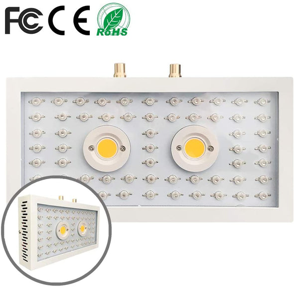 1500W LED Grow Light, Adjustable Full Spectrum Plant Light Growing Lamps for Indoor Plant with Bloom and Veg