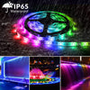16.4ft 5050 RGB LED Strip Light, iCreating 2020 New Design DC 12V SMD5050 Color Change Flexible LED Strip Lights with 300 LEDs