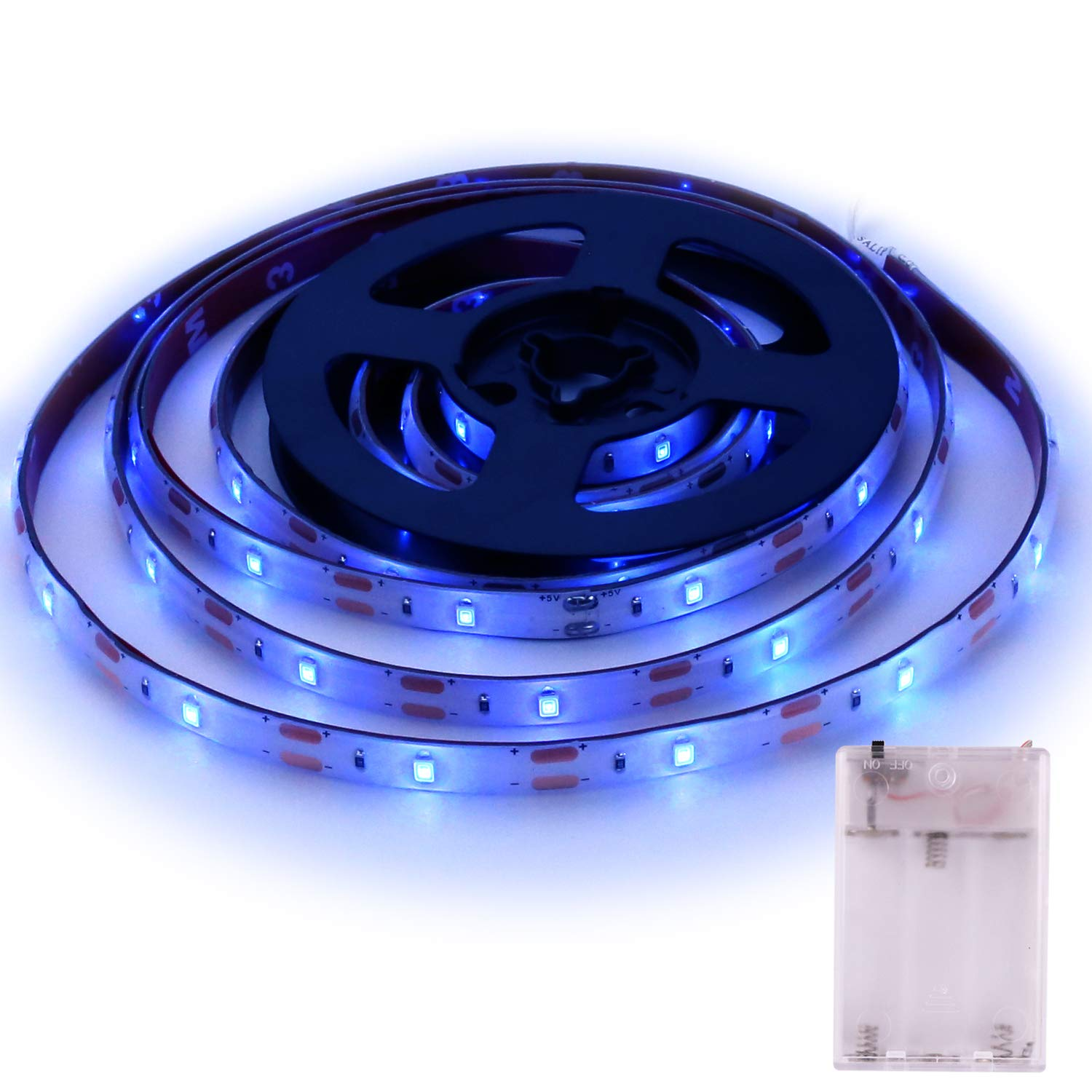 Blue Led Strip Lights Icreating 2019 New Design Battery Powered Led