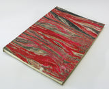 A4 Marbled Limp Leather Journal