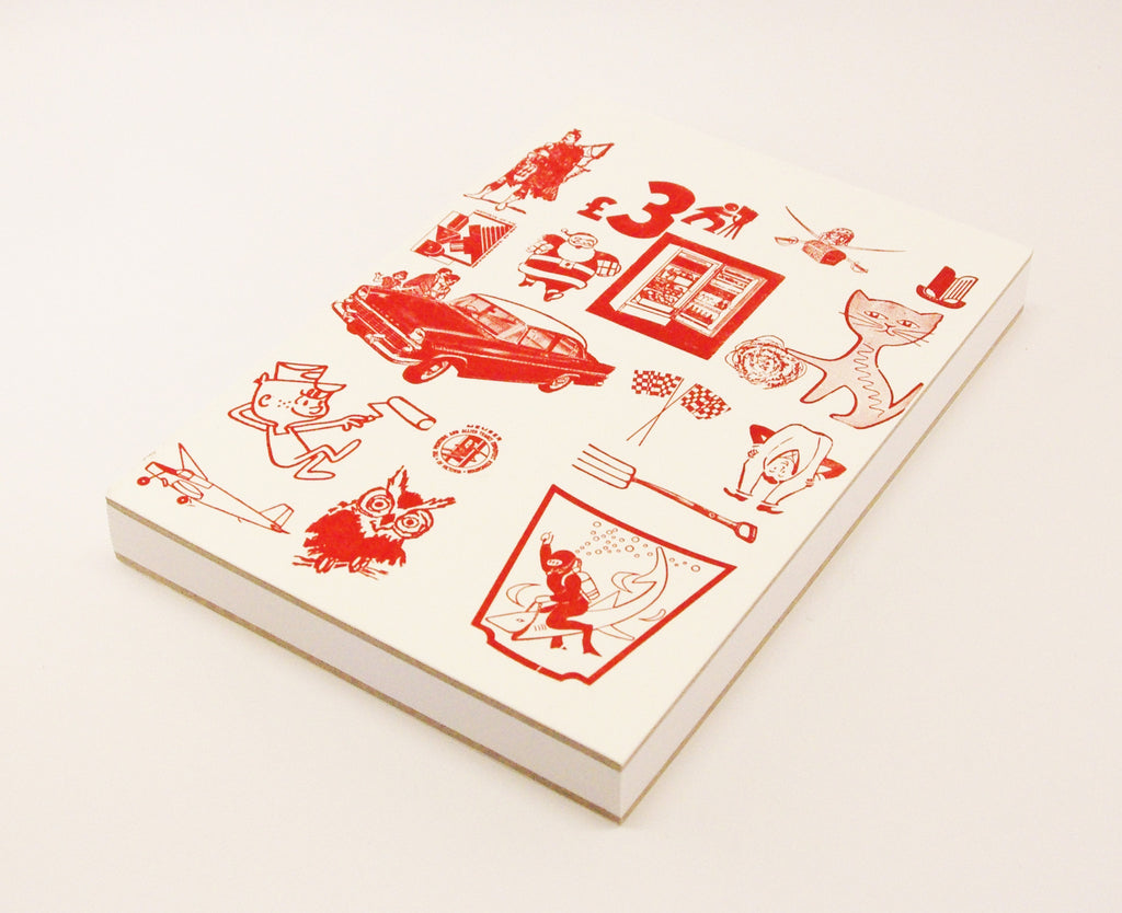 A5 Journal with Letterpress £3 Design