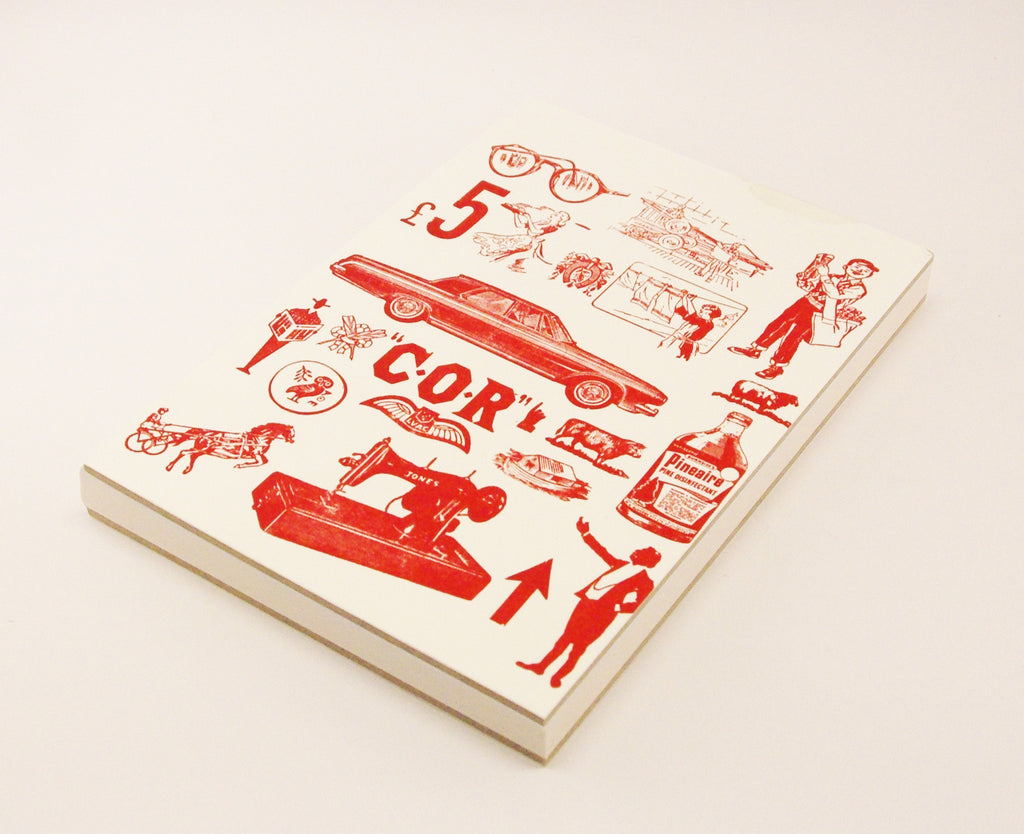 A5 Journal with Letterpress £5 Design