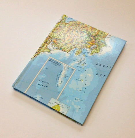 World Map Journal