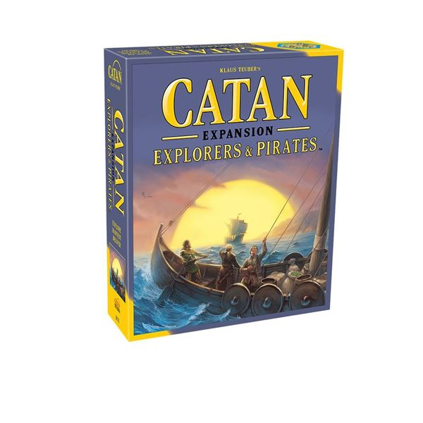 Catan: Explorers & Pirates Expansion | Mythicos