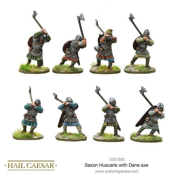 Hail Caesar Saxon Huscarls Dane Axe Blister