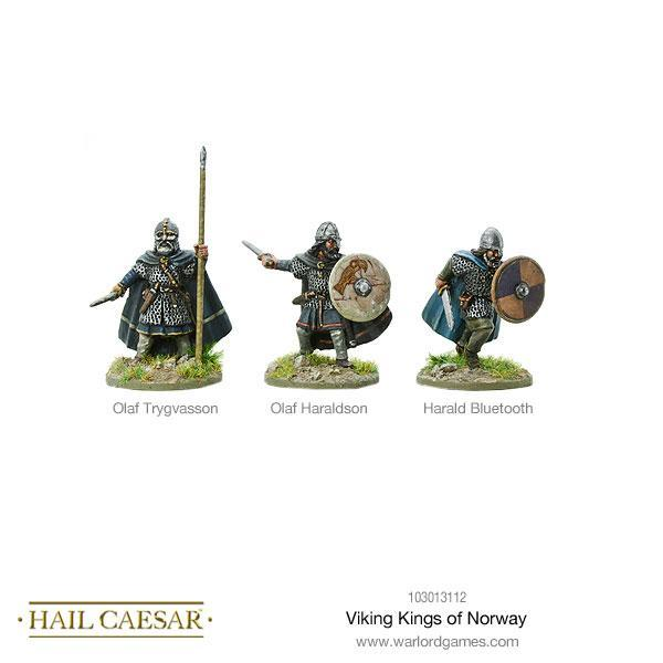 Hail Caesar Viking Kings Of Norway Blister | Mythicos