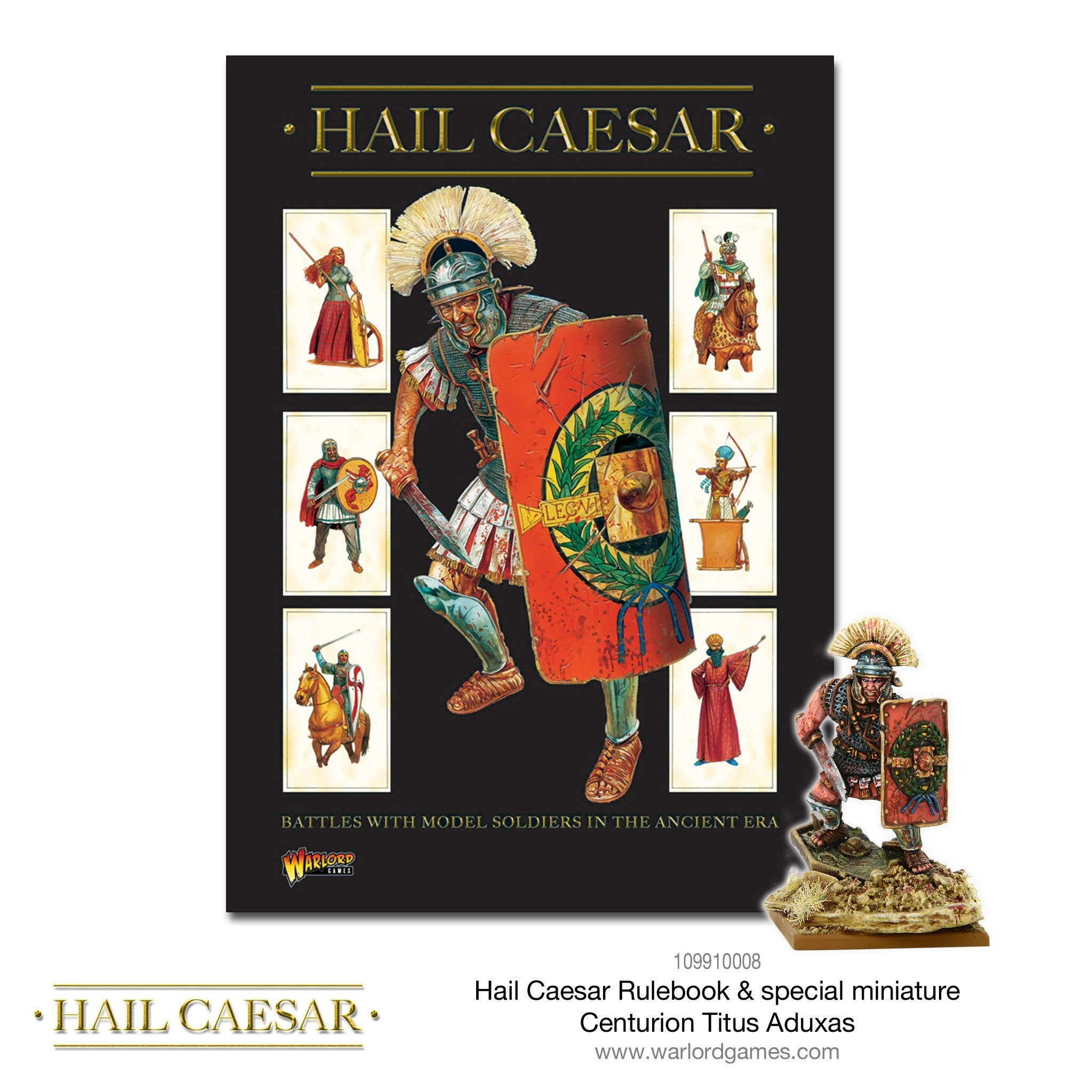Hail Caesar Rulebook | Mythicos