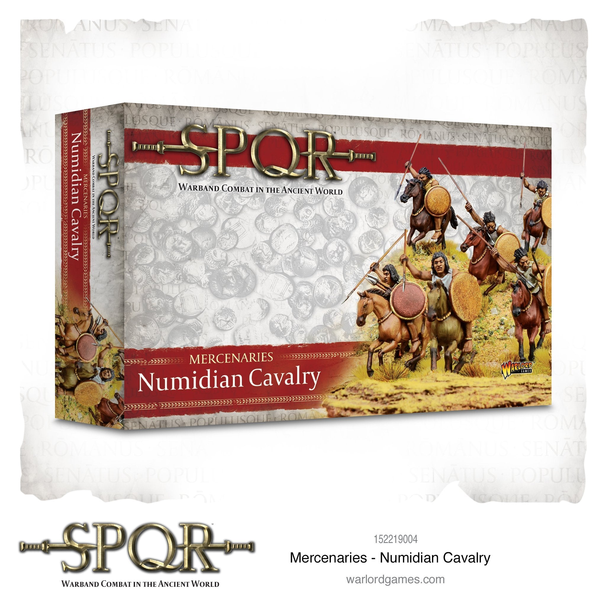 Mercenaries Numidian Cavalry | Cascade Games | New Zealand