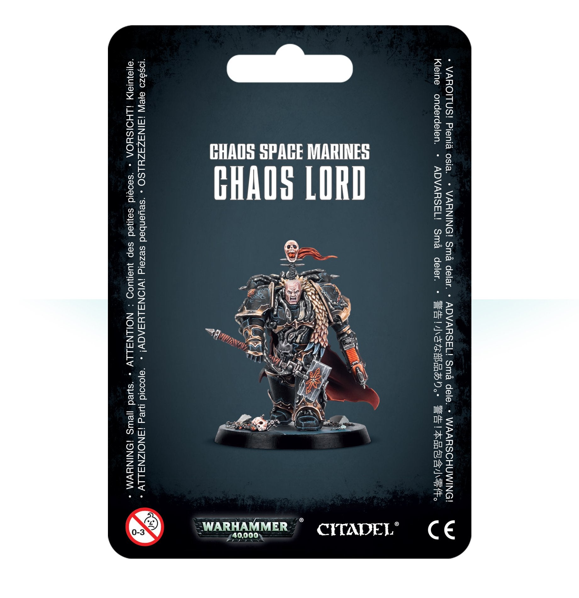 Chaos Space Marines: Chaos Lord | Mythicos
