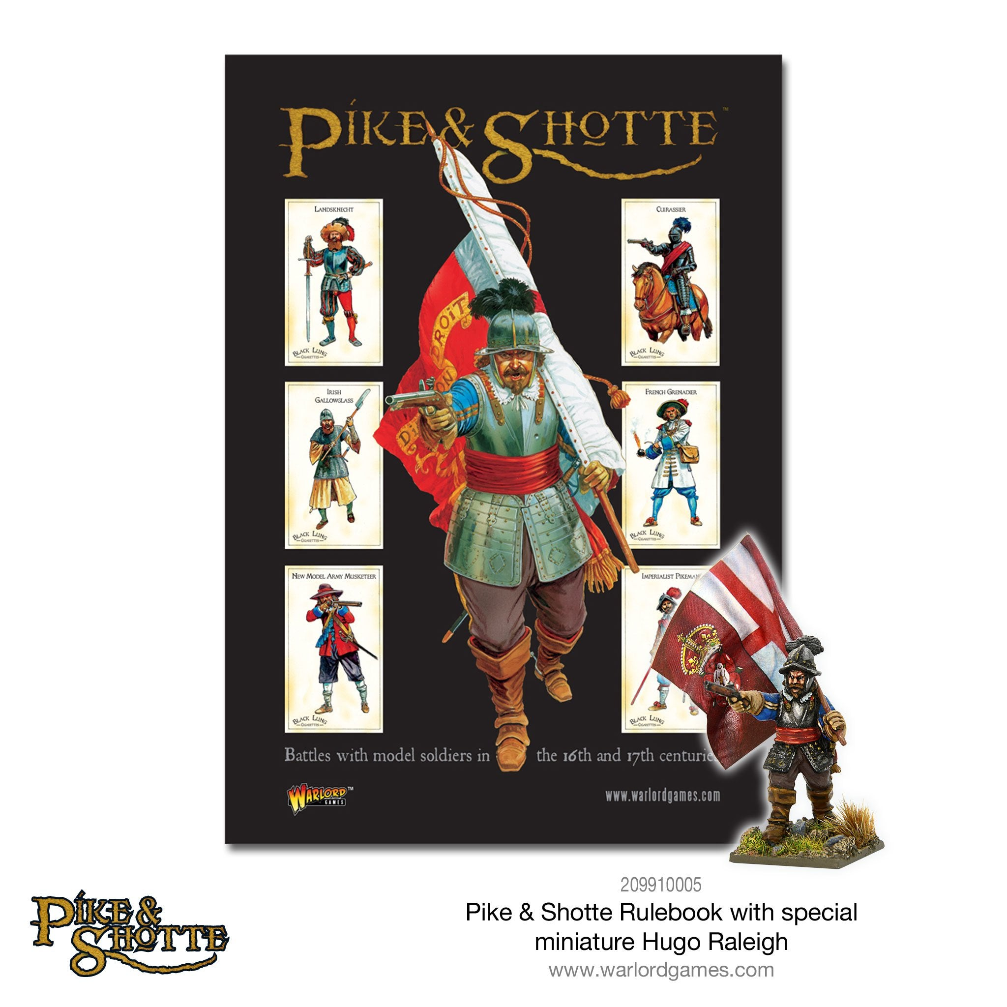 Pike & Shotte Rulebook | Mythicos