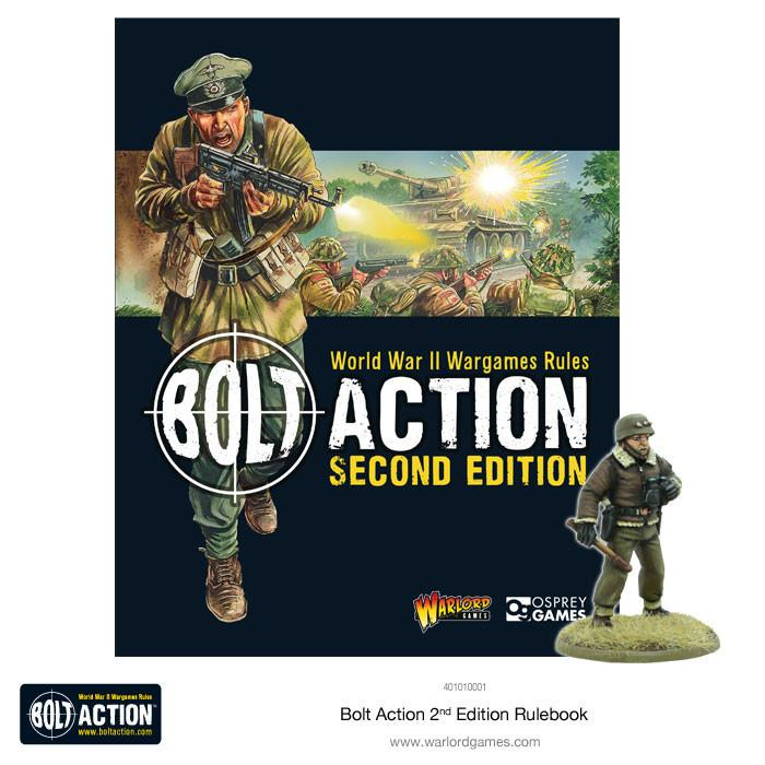 Bolt Action Second Edition Rulebook | Mythicos