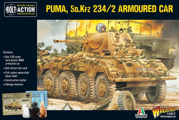 Puma, SD.KFZ 234/2 Armoured Car | Mythicos