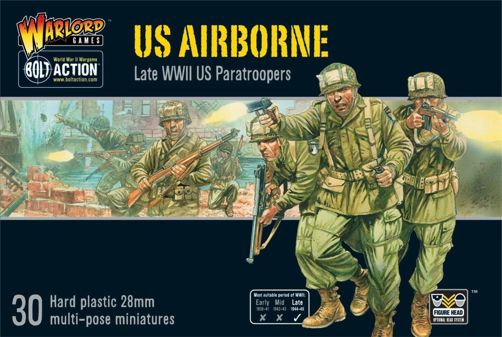 US Airborne Plastic Box Set | Mythicos