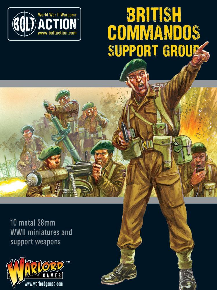 British Commandos Support Group | Mythicos