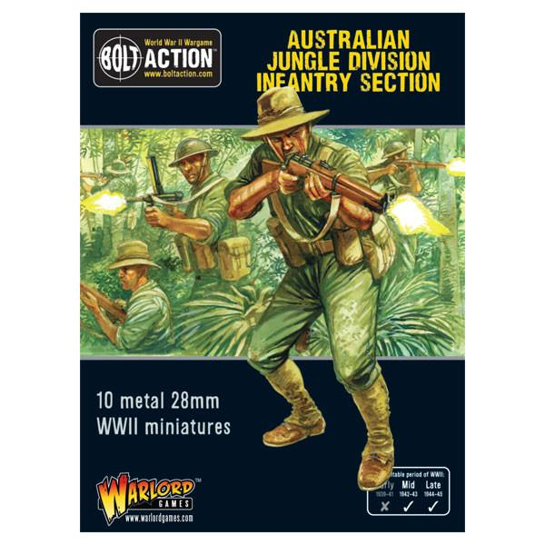 Australian Jungle Division Infantry Section | Cascade Games | New Zealand