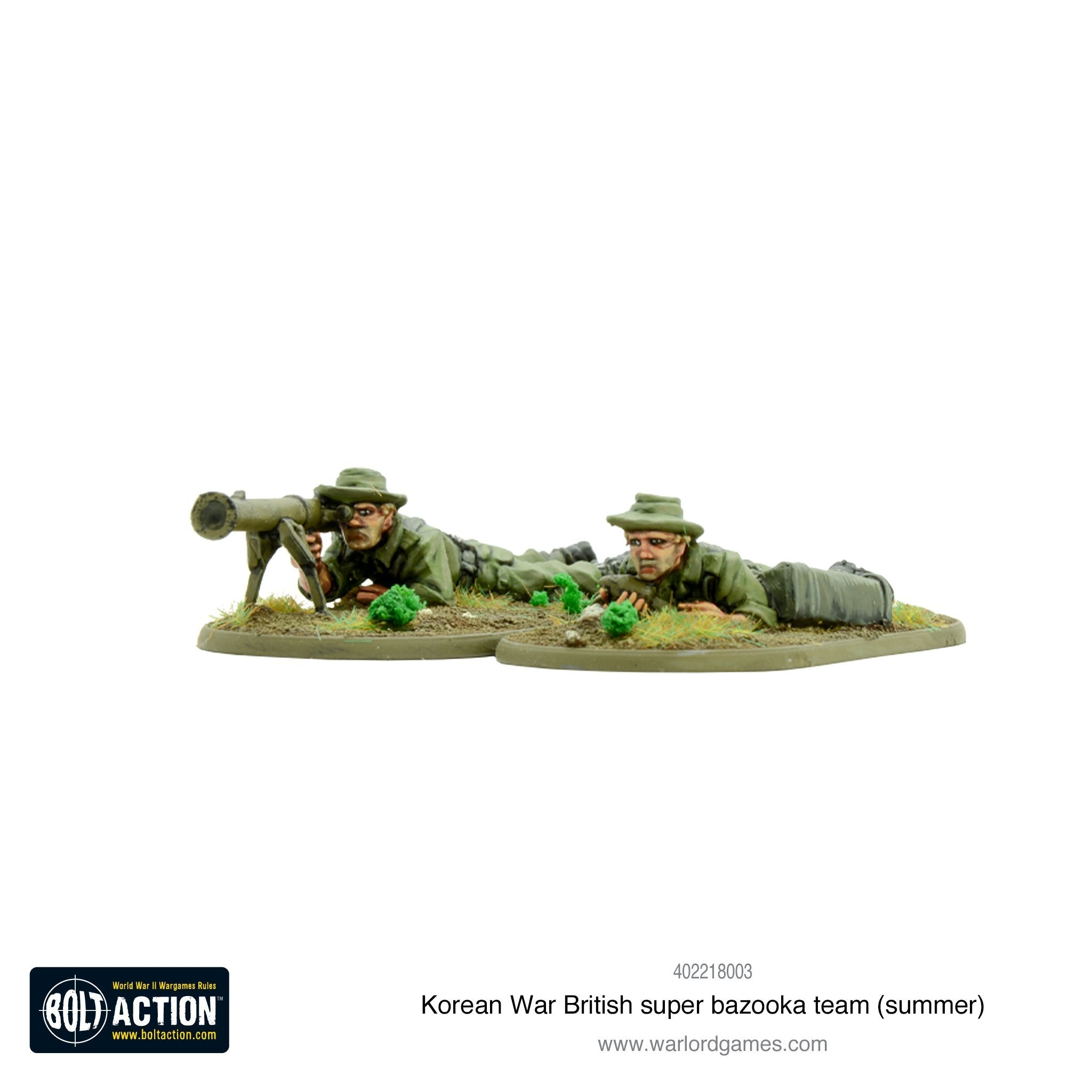 Korean War - British Super Bazooka Team (Summer) | Cascade Games | New Zealand