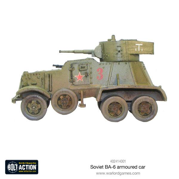 BA-6 Armored Car | Mythicos