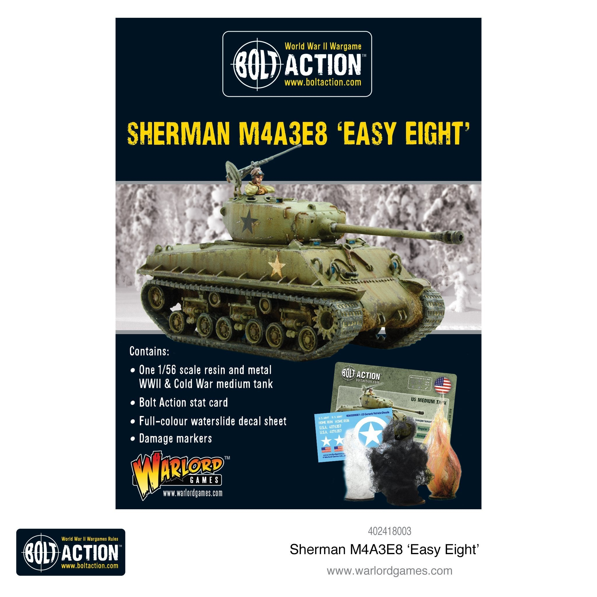 "Sherman M3A3E8 ""Easy Eight"" 