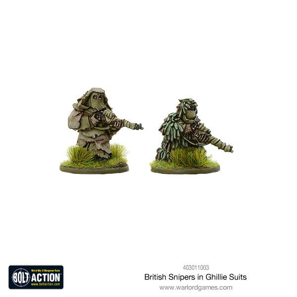 British Snipers in Ghillie Suits | Mythicos