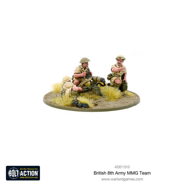 British 8th Army MMG Team | Cascade Games | New Zealand