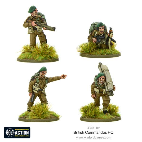 British Commandos HQ | Mythicos