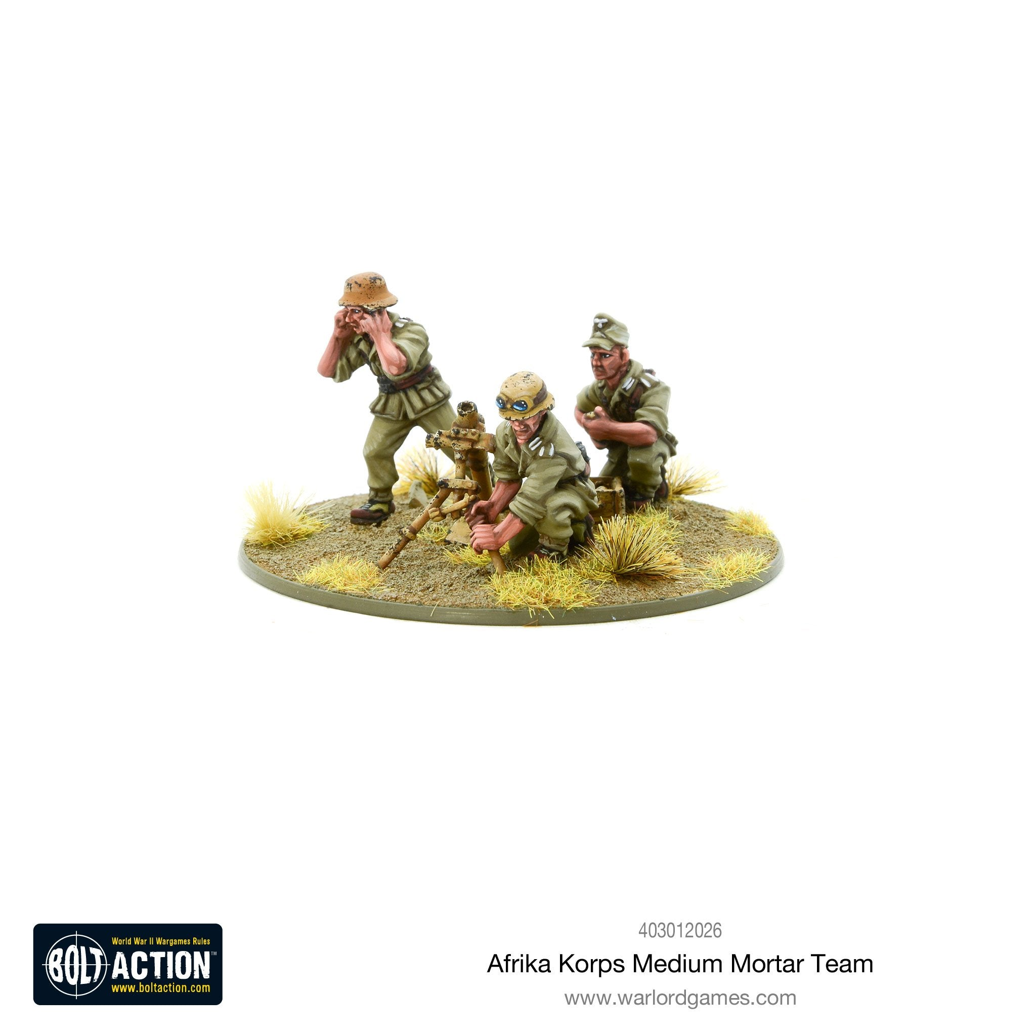 Afrika Korps Medium Mortar Team | Mythicos