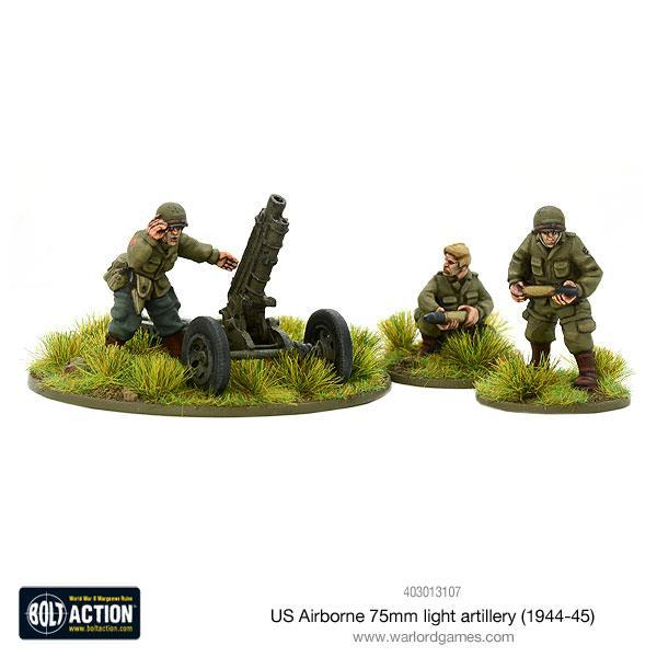 US Airborne 75mm Light Artillery | Mythicos